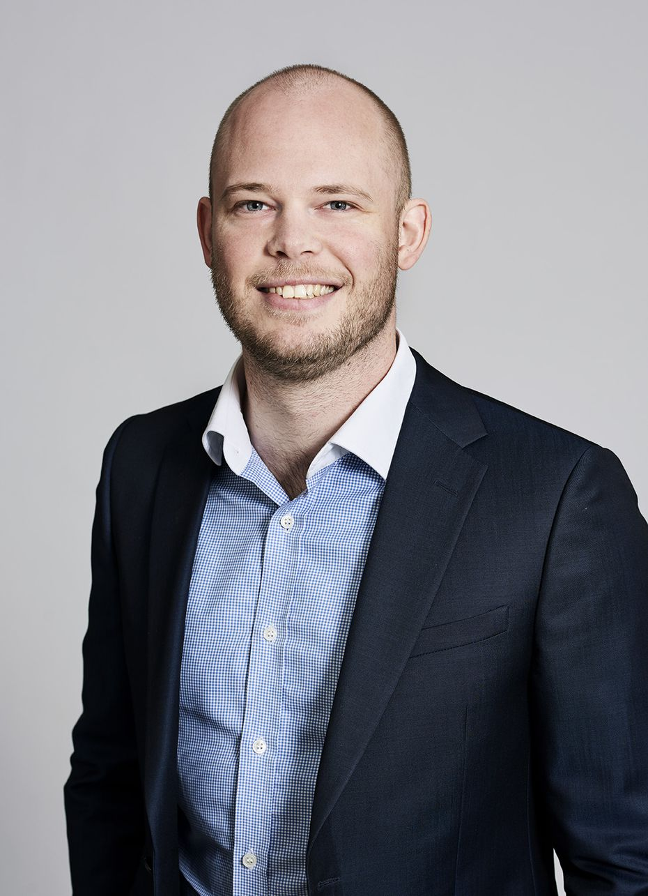 Kristian Hulgard, general manager of OnRobot's division in the U.S.