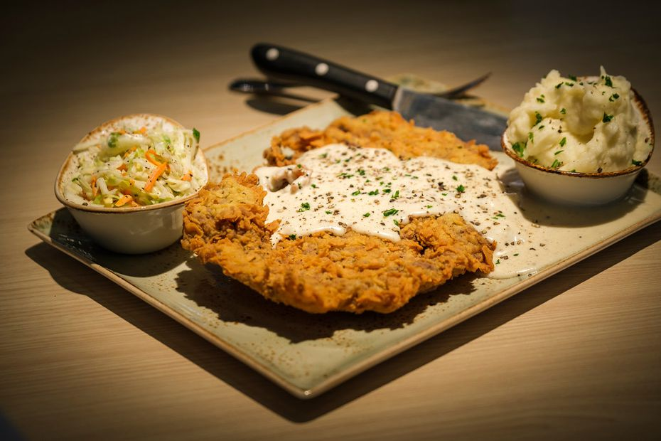 For customers who'd rather Southern comfort food instead of smoked meat, Pappas Delta Blues Smokehouse sells a chicken-fried Prime rib-eye.