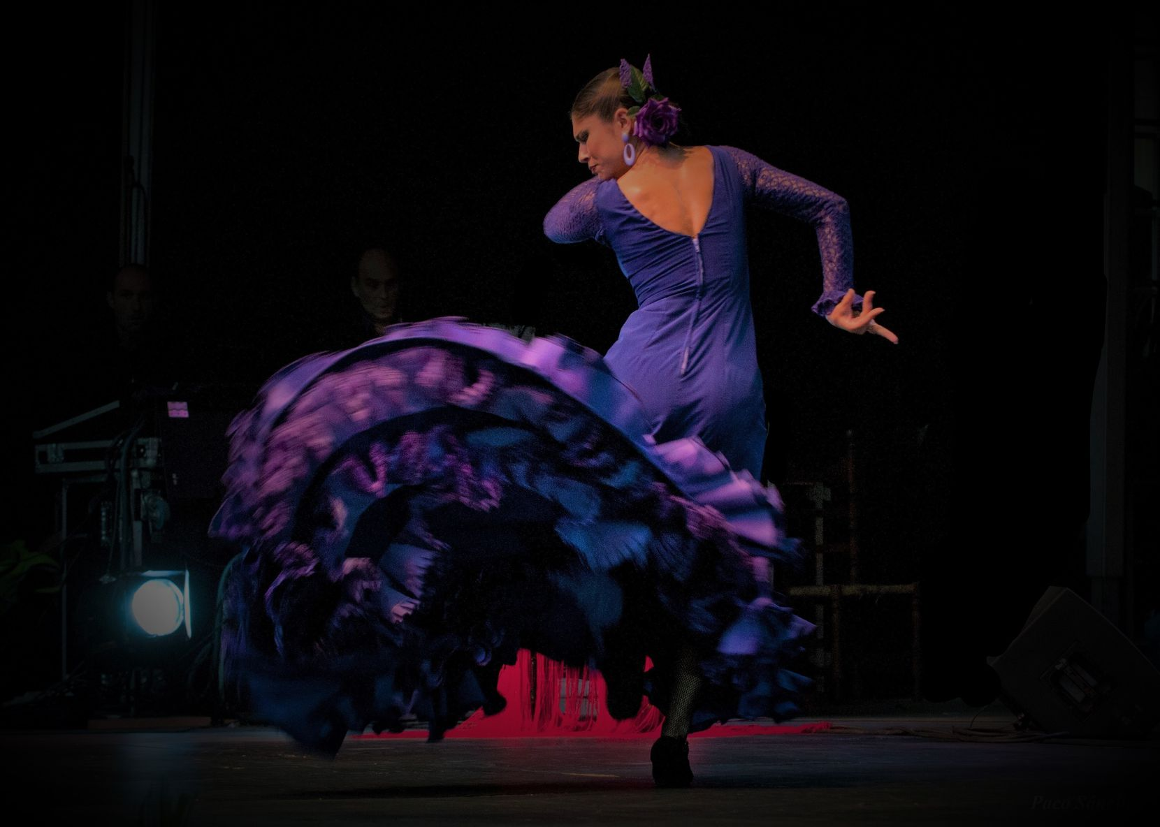 Flamenco dancer Lakshmi Basile performs at the Oak Cliff Flamenco Festival. The 2021 event will be held Sept. 6-11 at various locations in and around downtown Dallas.