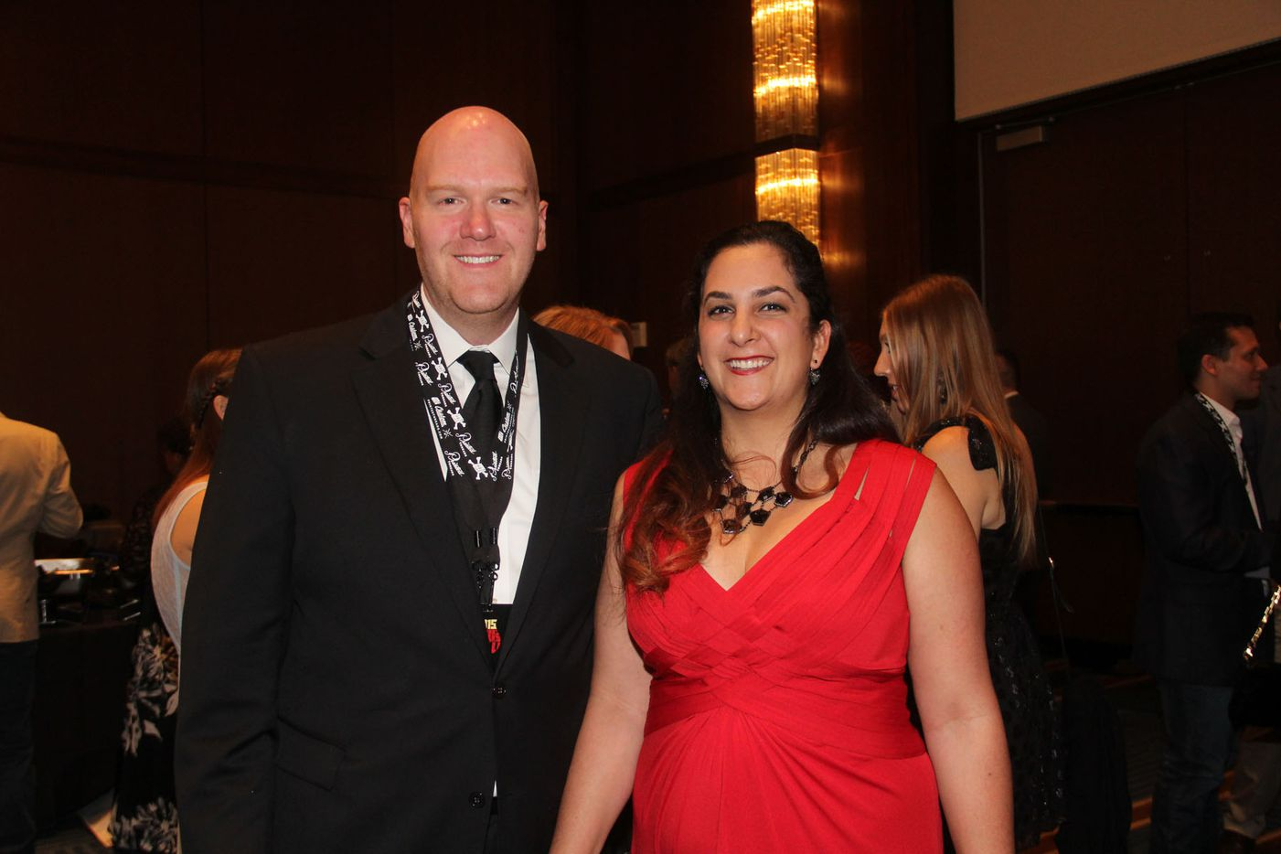 NTX Beer Week held its Second Annual Brewers Ball at the Renaissance Dallas Hotel on November 13, 2015. Chad and Nellie Montgomery