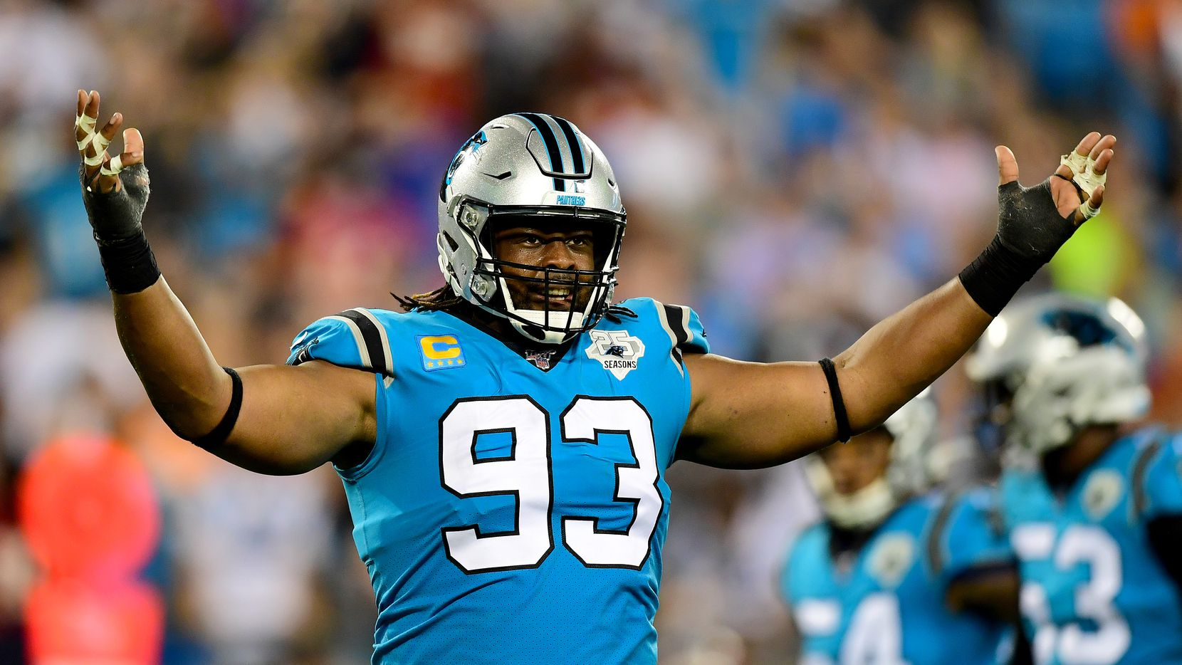 Gerald McCoy, who played with Carolina last season, is in the final stages of negotiations with the Cowboys on a three-year deal.