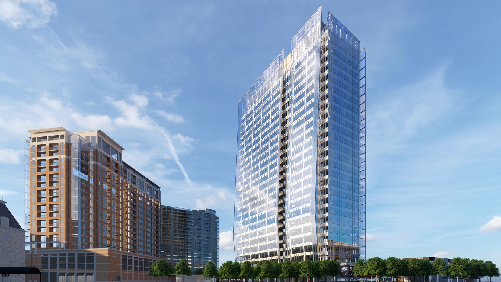 The 23Springs high-rise will be 26 stories tall.