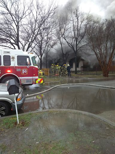 Firefighters responded to a fire in the 3500 block of Durango Drive on Thursday. Another house in the same block was damaged in a fire a day earlier.