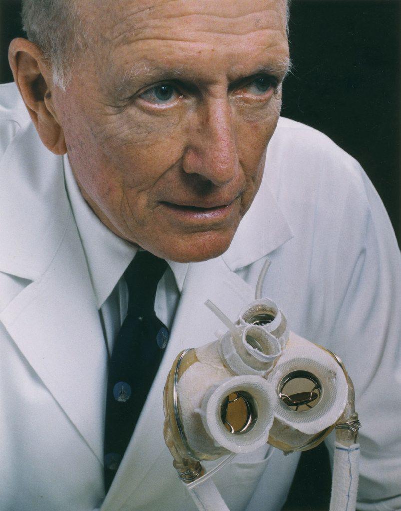 Dr. Denton Cooley     in 1997.
