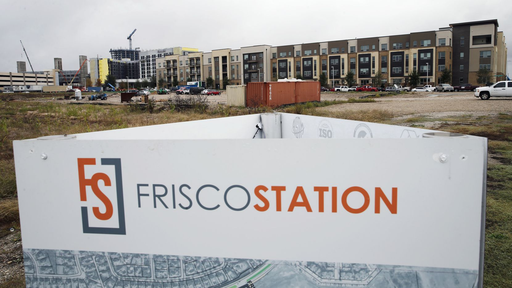 Up to 2,400 apartments are planned for Frisco Station.