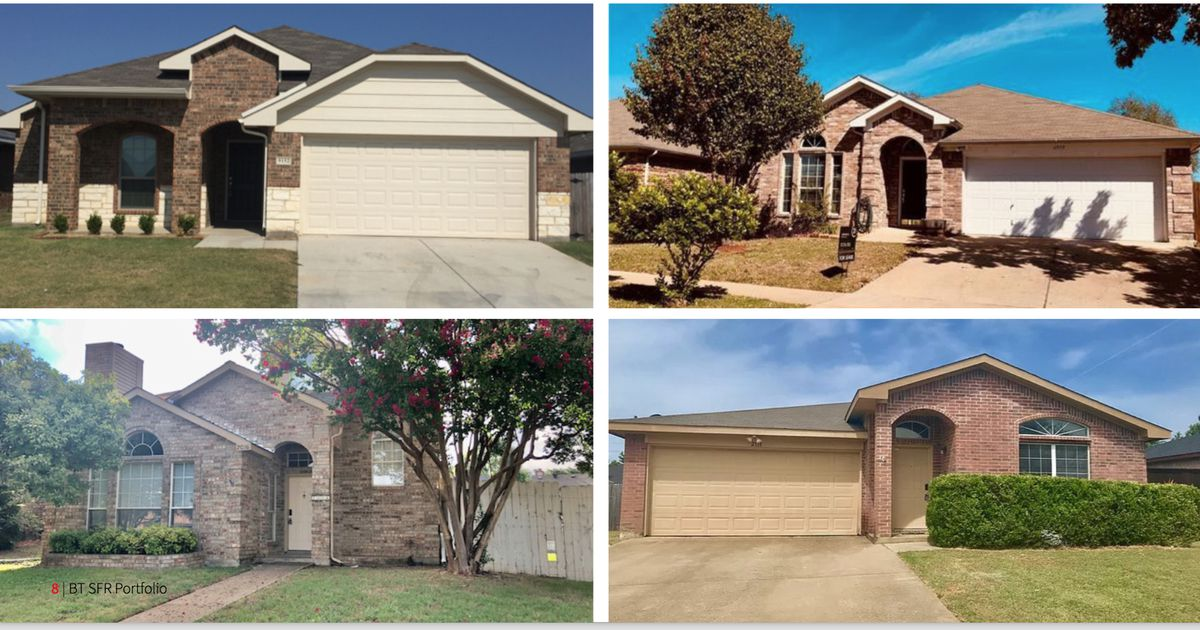 Hundreds of North Texas homes sell to Arizona investor