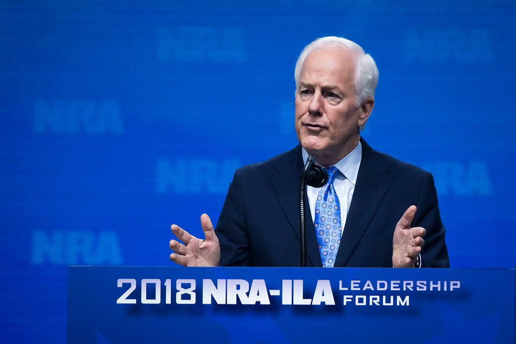 Sen. John Cornyn wants to find a way to protect the Dreamers, but he said a Texas lawsuit to end the Obama-era program is not a solution. (Smiley N. Pool/The Dallas Morning News)