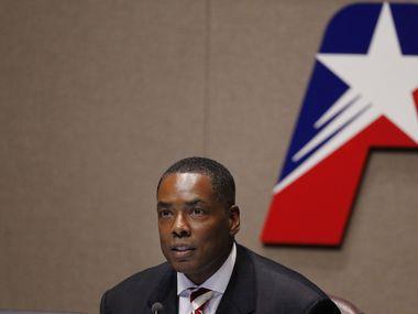 File photo of Plano Mayor Harry LaRosiliere.