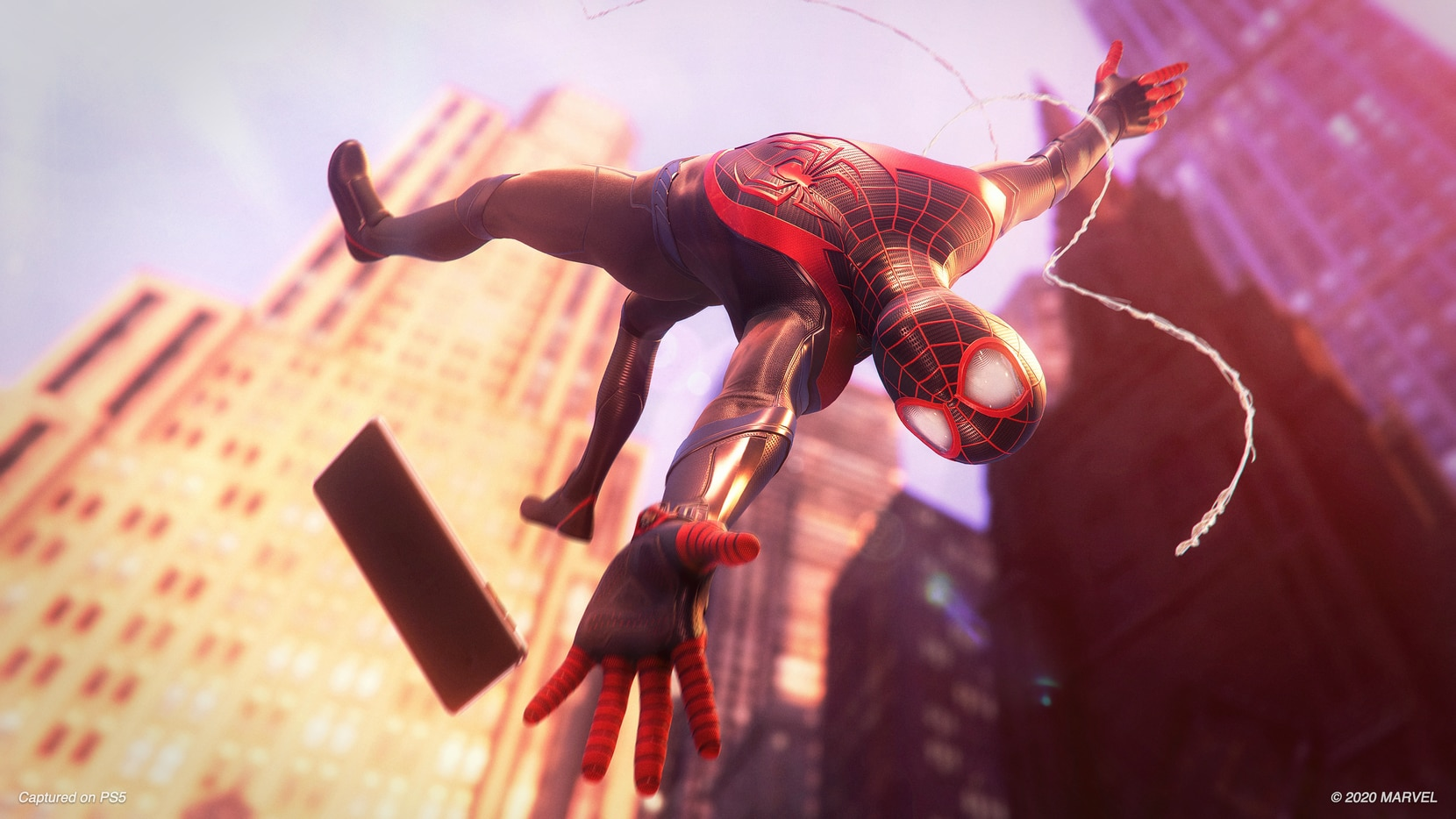"""""""Marvel's Spider-Man: Miles Morales"""" on the PlayStation 5."""