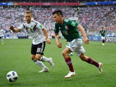 México y Alemania se cruzaron en el Mundial de Rusia, donde el Tri se impuso por 1-0.
