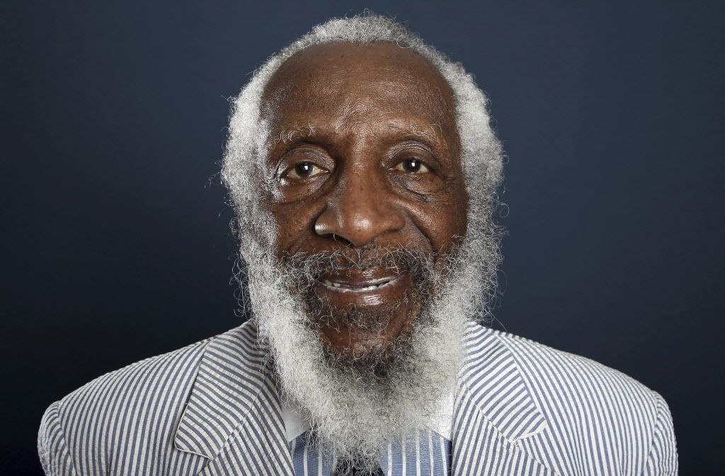 Comedian and activist Dick Gregory died Aug. 19. (The Associated Press)