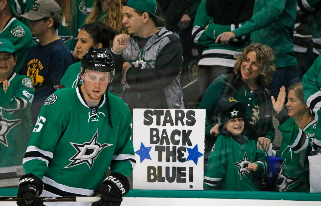 File photo of fans at a Dallas Stars game.