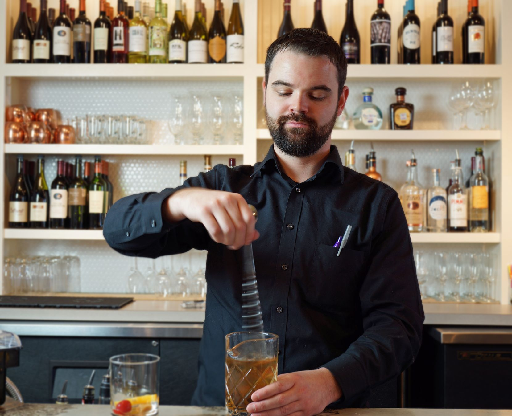 TJ's Seafood Market serves $5 Old Fashioneds all day for Father's Day.