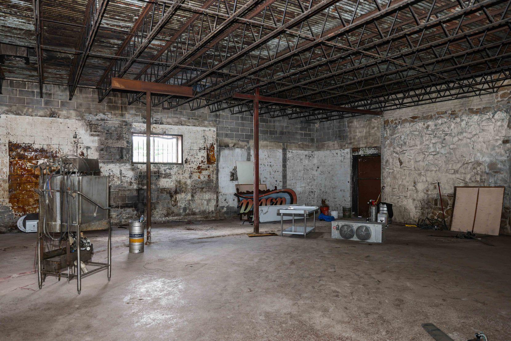 Empty space inside Casita Tex-Mex in Dallas