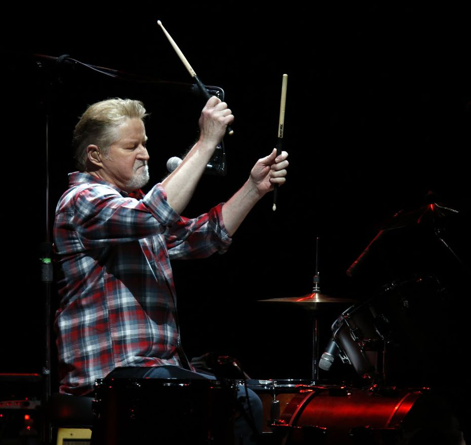 Don Henley and the Eagles came to American Airlines Center on February 19, 2014.