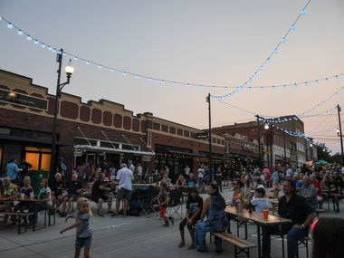 McKinney recently completed a $6.5 million infrastructure improvement project in its historic downtown area.