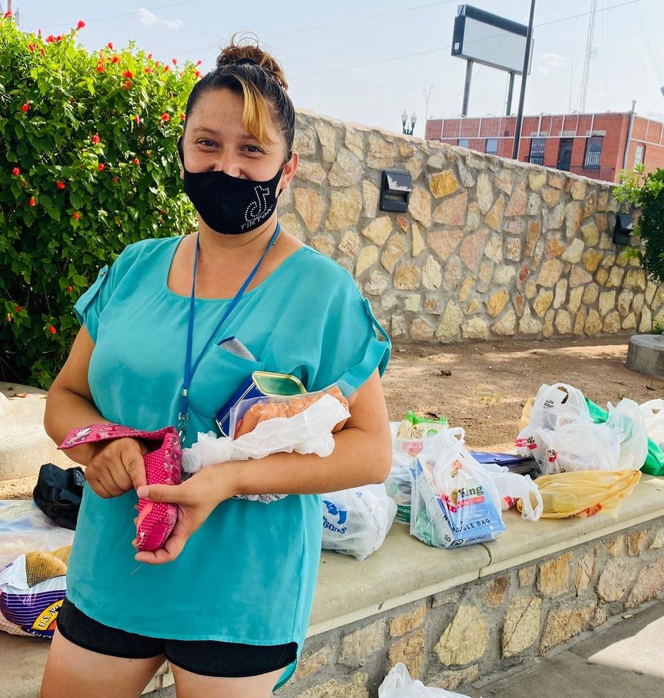 Marisol, de 30 años, es ciudadana estadounidense y cruza a El Paso para comprar artículos que su familia de Ciudad Juárez necesita.