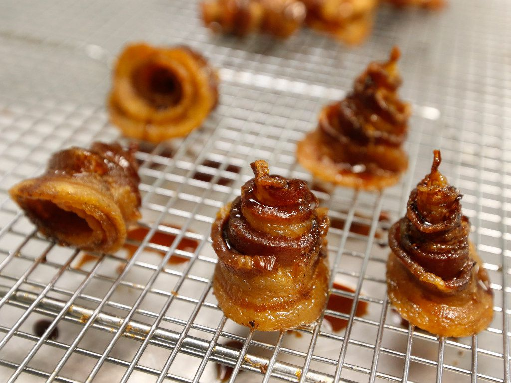 Here are some of Browning's bacon samples.
