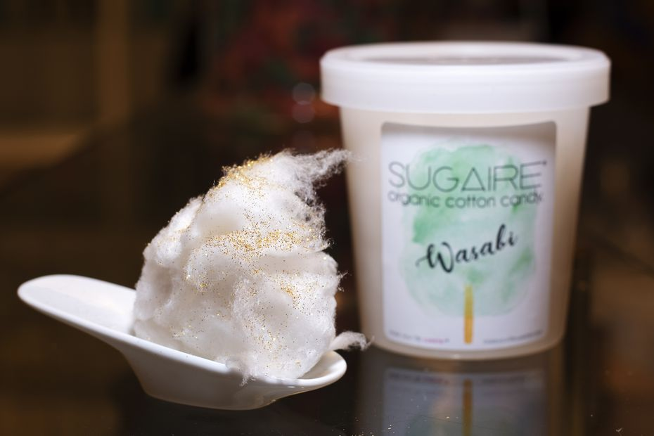 Much of the cotton candy at Make Your Life Sweeter is organic, gluten-free, halal, kosher and vegan.