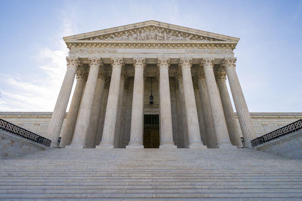 La sede de la Corte Suprema en Washington, D.C.