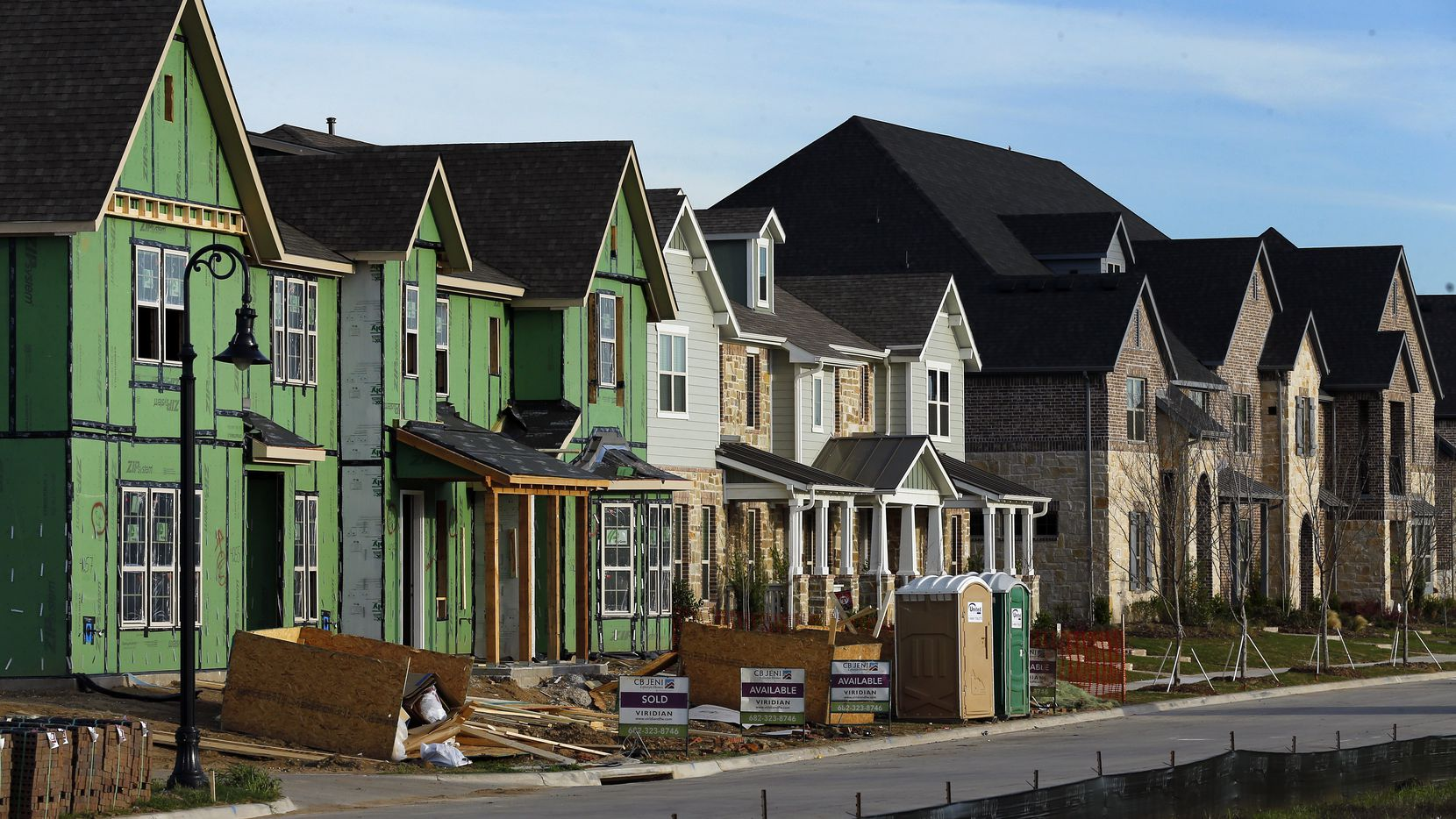 The homebuilding market is booming in Texas and the U.S., but the state still reported a net decline in construction jobs -- down 2,300 from January to February. The pandemic has had a big impact on nonresidential construction.
