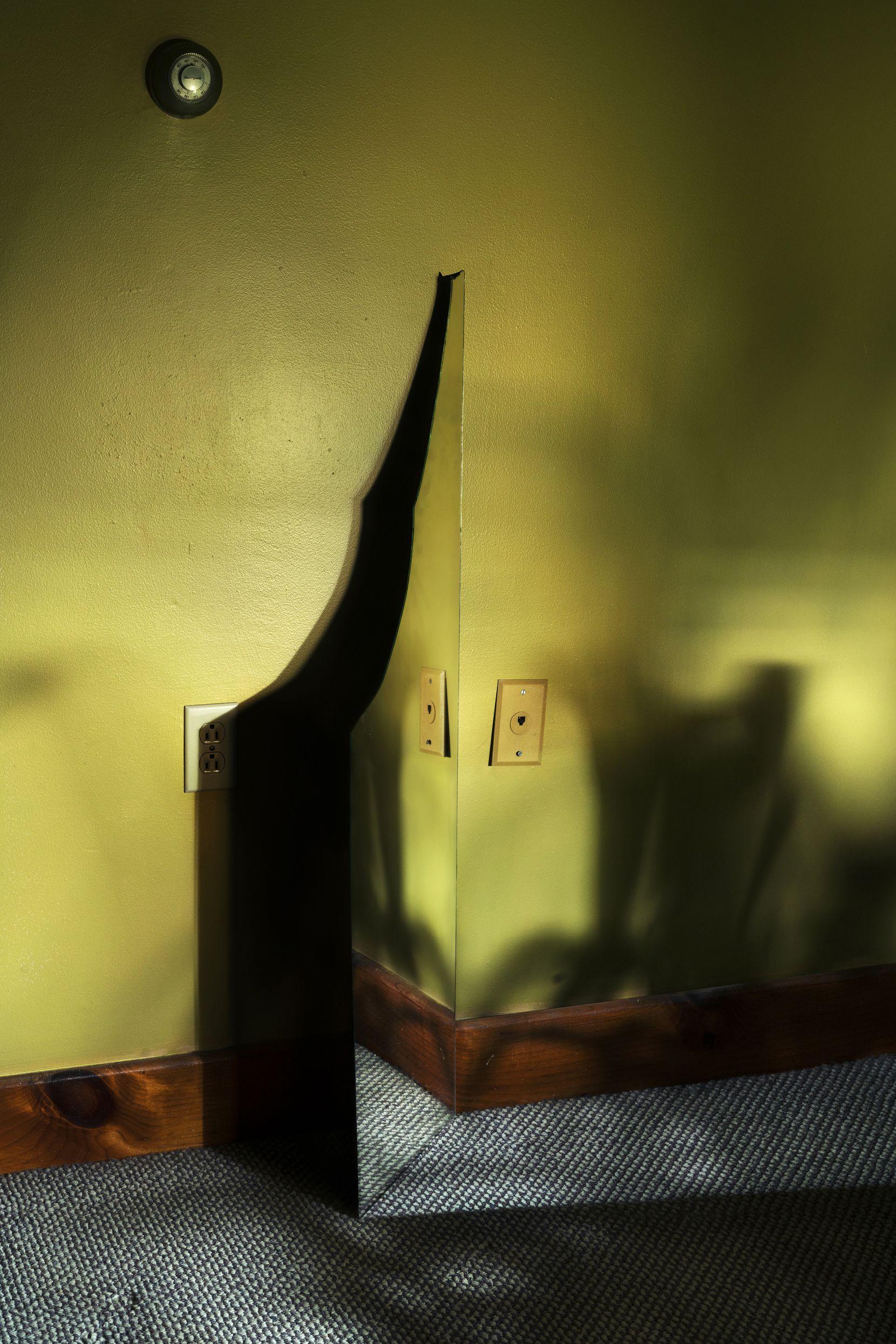 Genesis Báez's work, 'Portals,' 2018, is an archival pigment print.
