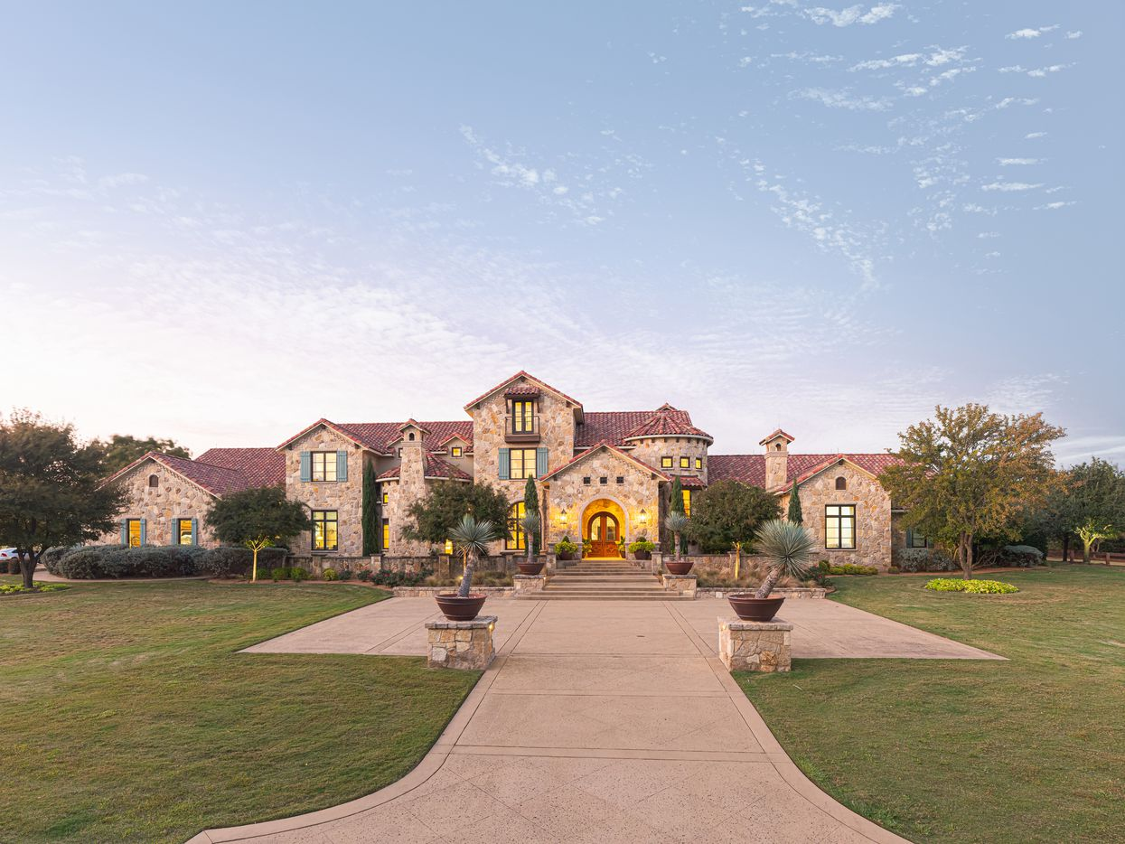 Take a look at 4004 Quail Run Road in Flower Mound, Texas.