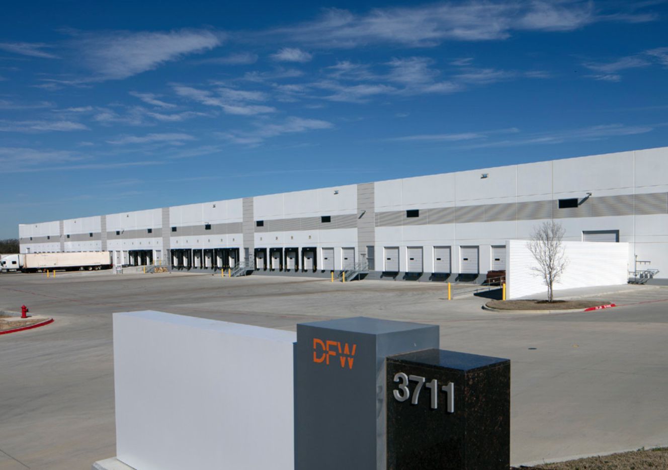 The first three buildings in the International Logistics Center were fully leased last year.