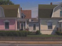 "Brian Cobble, ""Prairie Town, 2020,"" part of the new show at Valley House Gallery & Sculpture Garden."