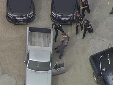 Rodolfo Gutierrez Tapia was eventually taken into custody in McKinney.