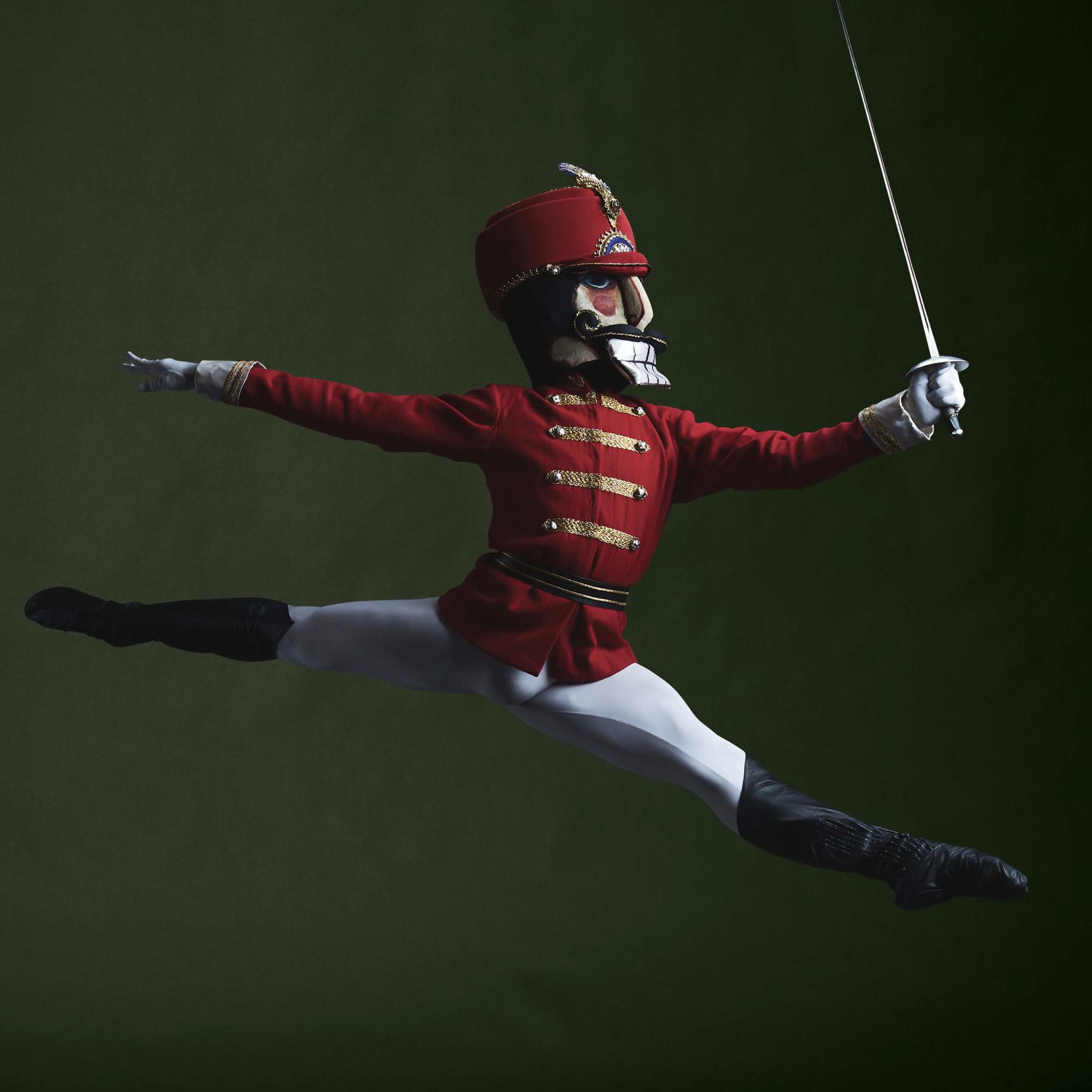 """Texas Ballet Theater's Eric Figueredo as the title character in """"The Nutcracker."""""""
