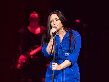 Demi Lovato performs live exclusively for American Airlines.