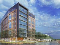 The eight-story District 121 building will be one of the largest new office projects in Collin County.