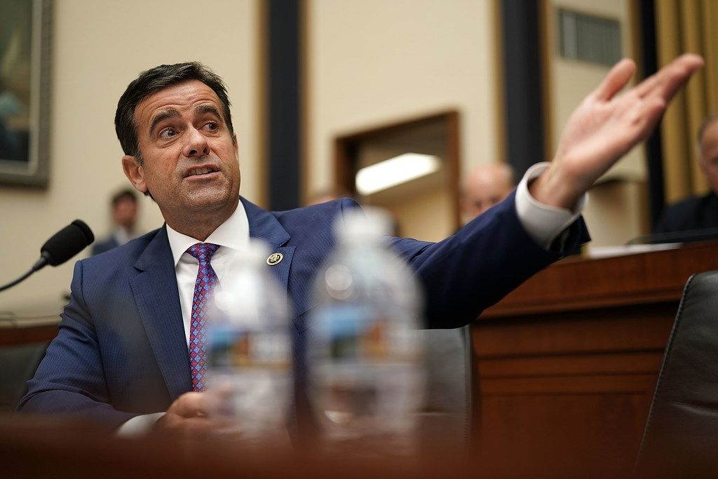 "Rep. John Ratcliffe, R-Heath, said the Democrats' impeachment push has ""unequivocally and irreparably harmed our national security and compromised an important ally."""