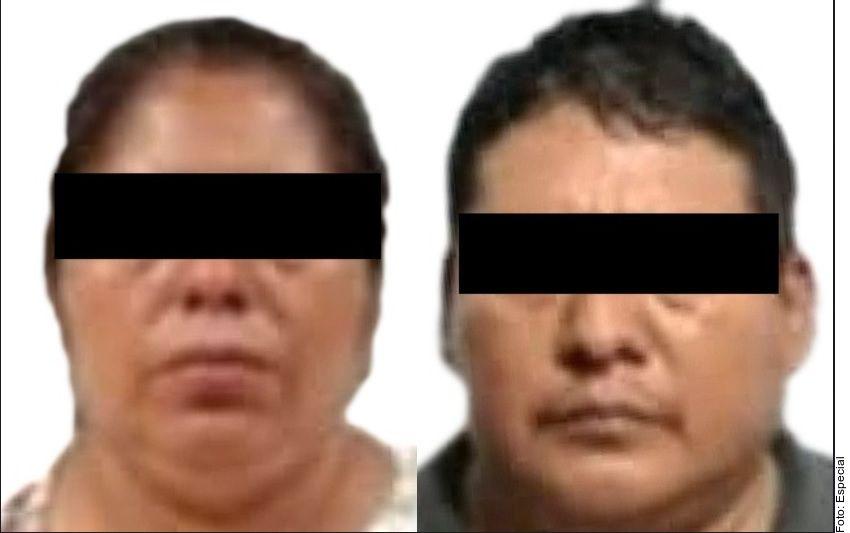 """Eufracia Morales López y Venancio Roblero Vázquez """"Don Venancio"""" o """"El Nancho"""" fueron atrapados en la Ciudad de México, el 10 de agosto de 2021, por la Agencia de Investigación Criminal (AIC) de la Fiscalía General de la República Mexicana, por delincuencia organizada y tráfico de personas."""