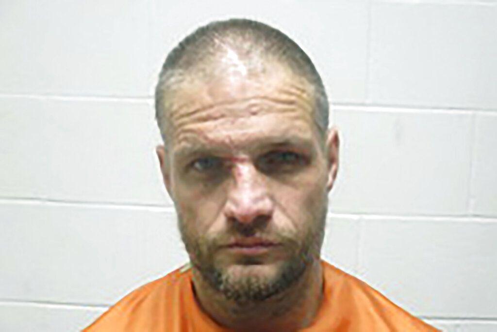 Fotografía del 1 de enero de 2020 proporcionada por el Departamento de Policía del condado Creek, Oklahoma, de Brandon Wade Kirby. (Departamento de Policía del condado Creek, Oklahoma vía AP)