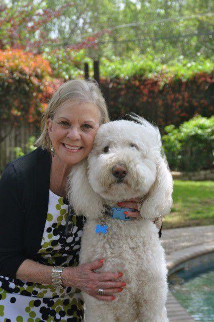"Norma ""Rae"" Kakacek and her dog, Bo"