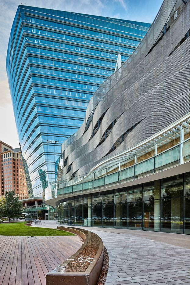 Architect Pelli Clarke Pelli also designed the new McKinney & Olive tower in Uptown Dallas.