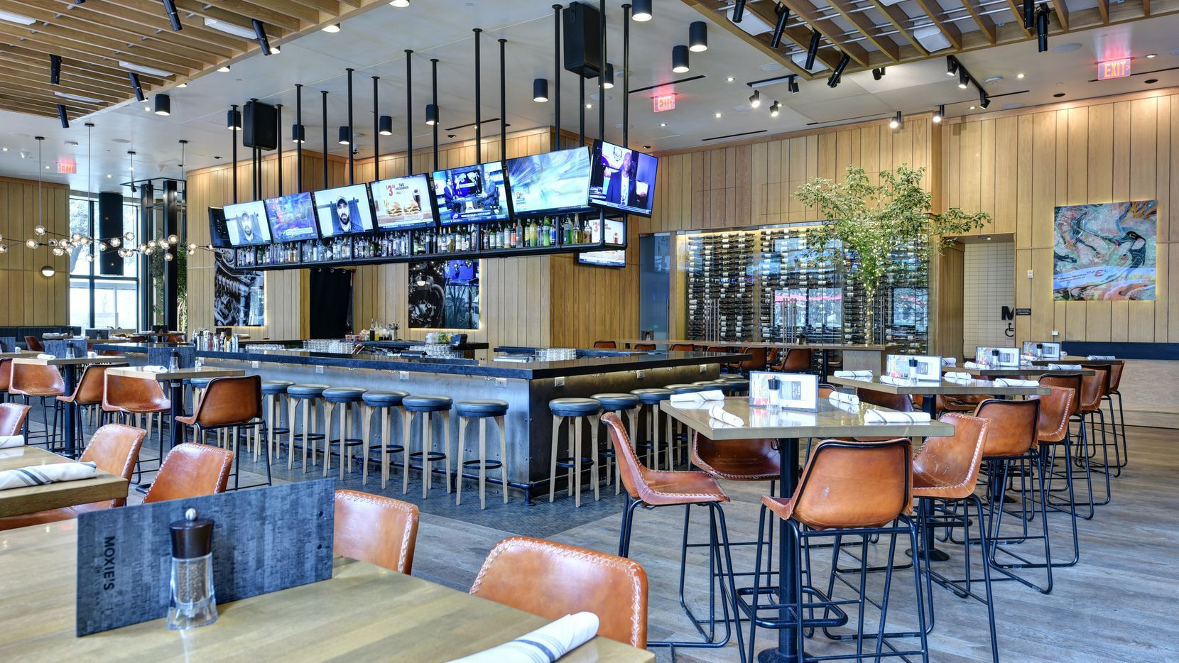 Moxie s Bar & Grill opened in Southlake Town Square in September 2020.