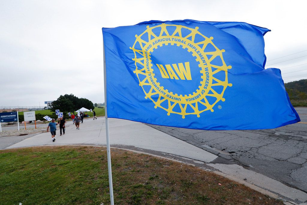 The United Auto Workers' strike against GM began on Sept. 16.