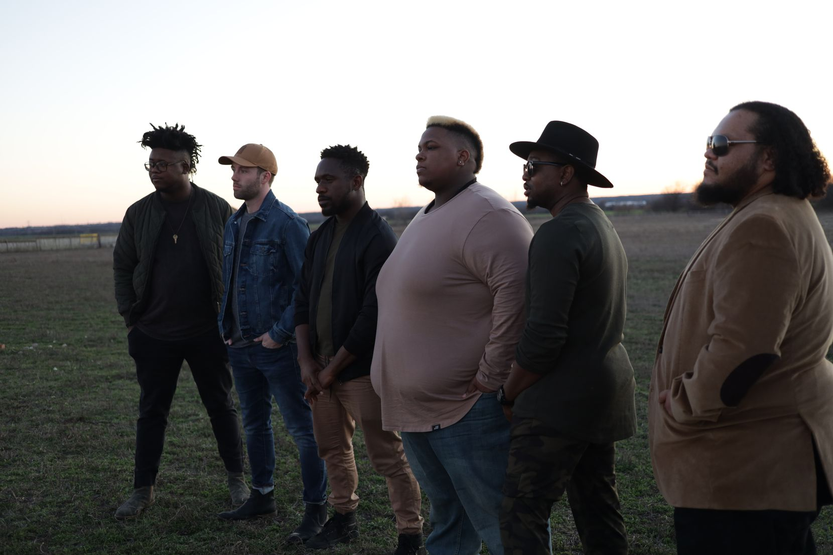 """Members of D and Chi pose for a publicity photo. """"It's the last time that he got to go in the studio and record his music,"""" Ijeh says of the album."""