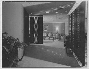 Photos of the Meadows Building, including this one of the Texas Club, are