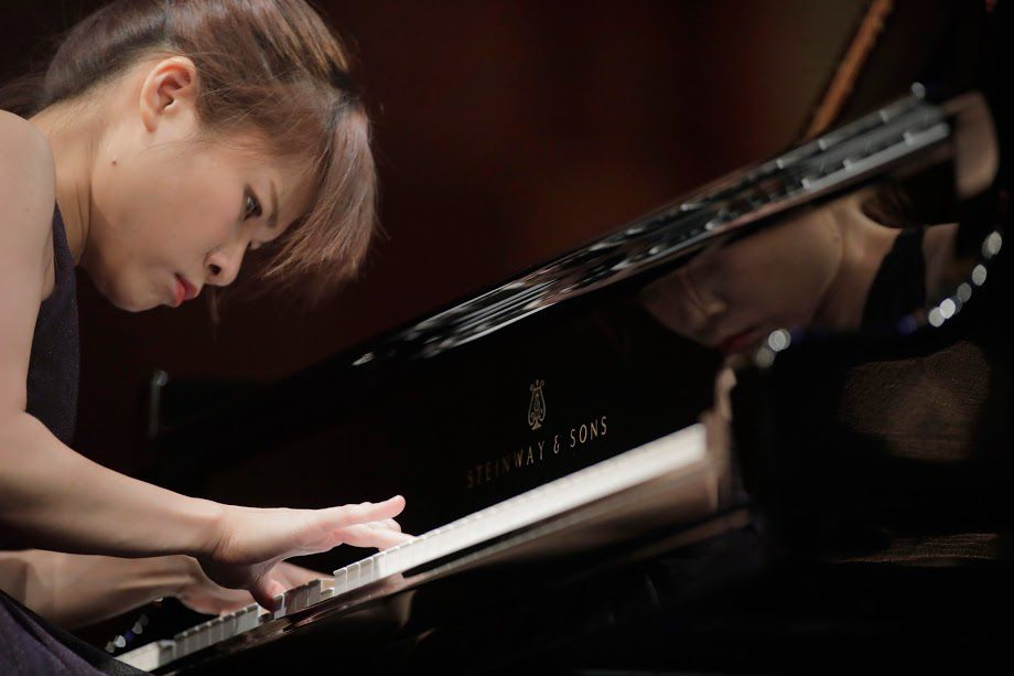 Rachel Cheung performed Sunday in the Cliburn's semifinal round.
