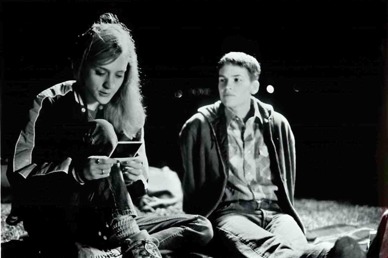 Chloe Sevigny and Hilary Swank in Boys Don't Cry
