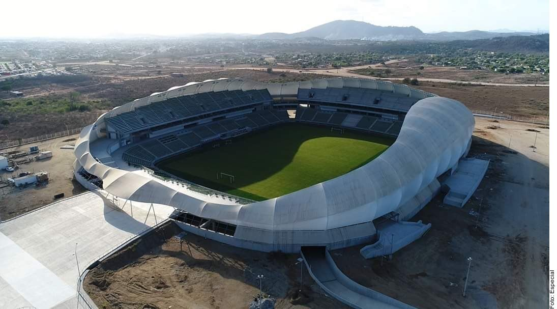 El presidente municipal de Mazatlán confirmó que abrirán el estadio con un 30 por ciento de aforo.