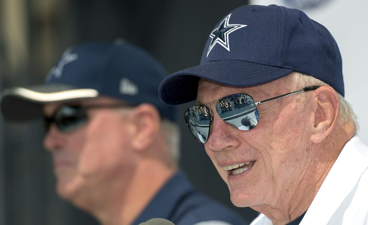 Jerry Jones, dueño de los Cowboys de Dallas desde 1989.(AP)