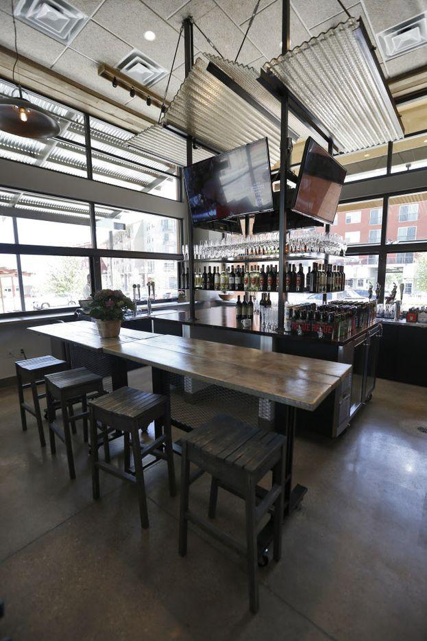 View of the bar at Cibo Divino, Friday, May 1, 2015. (Brandon Wade/Special Contributor)