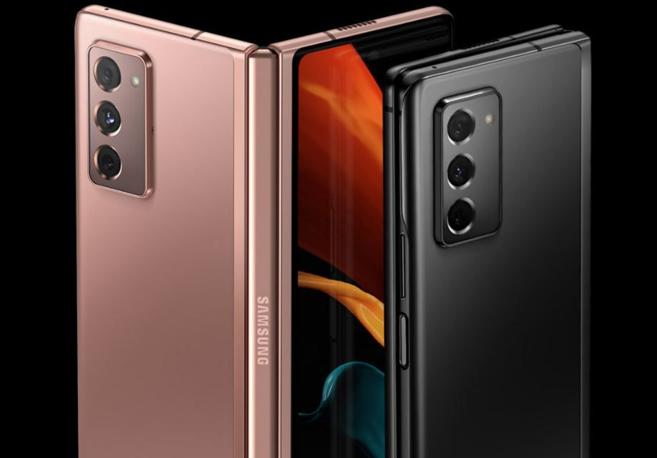 The Samsung Galaxy Z Fold2 5G comes in Mystic Bronze and Mystic Black.