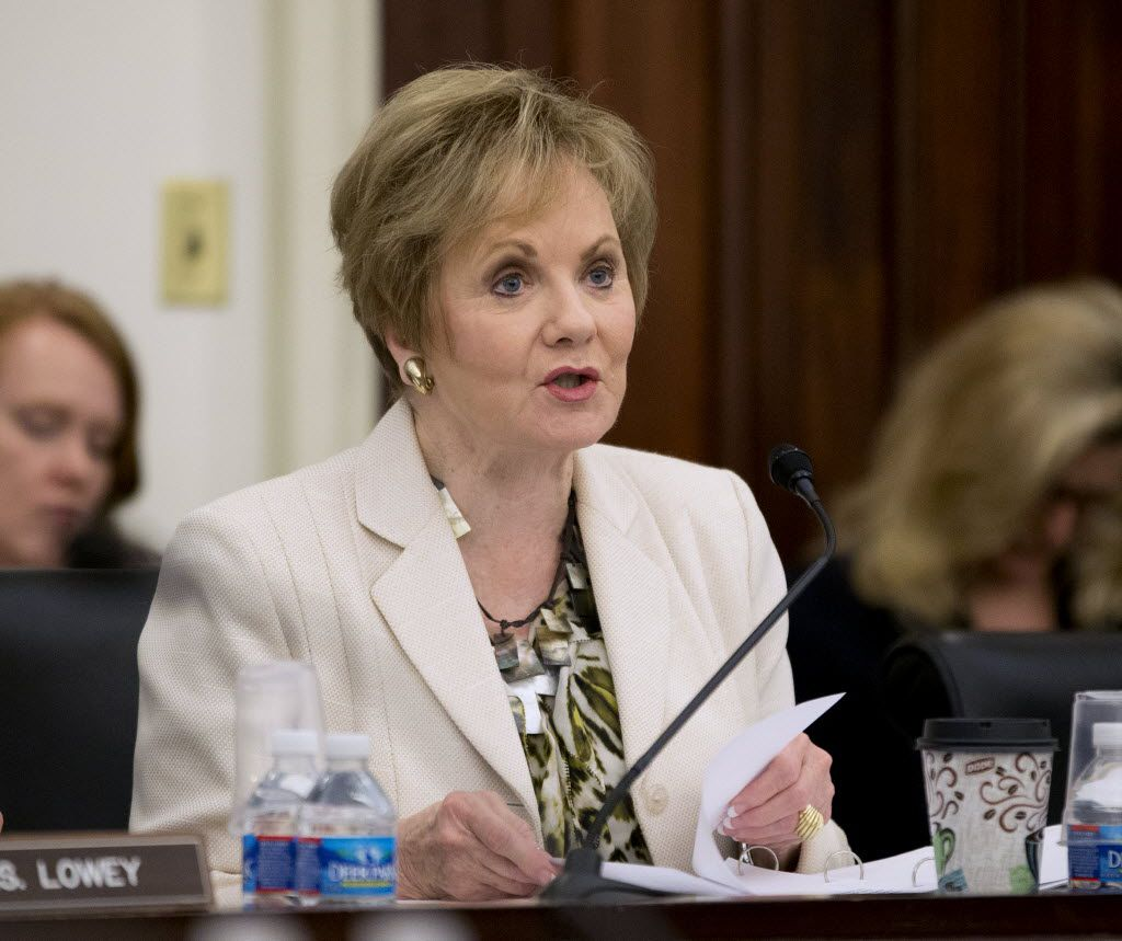 While an influential conservative group is backing the GOP primary opponent of Fort Worth Rep. Kay Granger, the longtime incumbent has the support of President Donald Trump . (AP Photo/Pablo Martinez Monsivais)