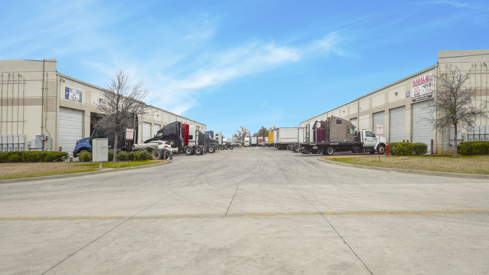 A warehouse project on High Prairie Road in Grand Prairie was included in the purchase.